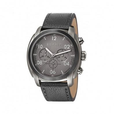 Ανδρικό ρολόι Esprit Grey Dial PVD Black