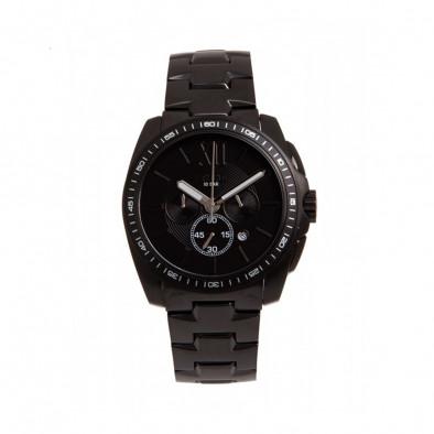 Ανδρικό ρολόι Esprit Black Dial Black PVD Quartz Chronograph