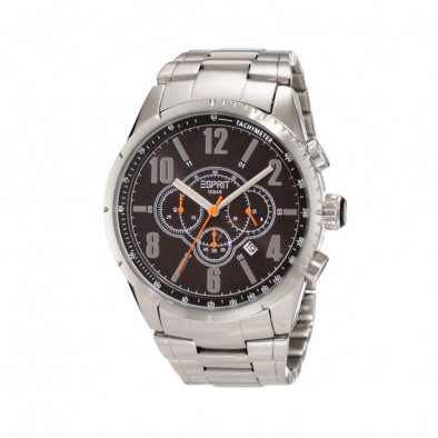 Ανδρικό ρολόι Esprit Quartz Chronograph Steel Black Dial