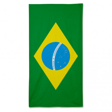 Ανδρικό πράσινο πετσέτα θαλάσσης Fashionmix fm090714-3 2