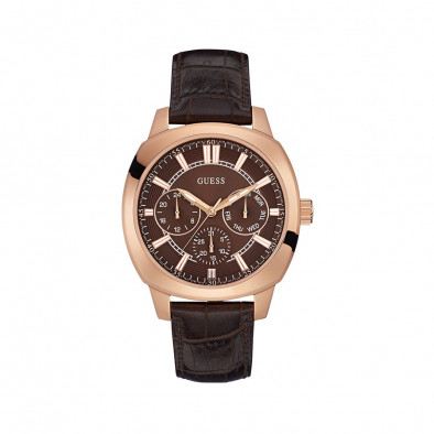 Ανδρικό ρολόι Guess Rose Gold Plated Prime W0660G1