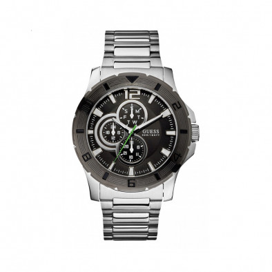 Ανδρικό ρολόι Guess Stainless Steel Date W11617G1