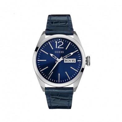 Ανδρικό ρολόι Guess Blue Dress Vertigo W0658G1