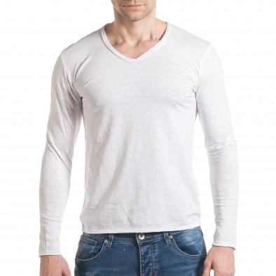 Ανδρική λευκή μπλούζα Y-Two it030217-21 2