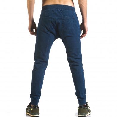 Ανδρικό γαλάζιο παντελόνι jogger Enos it090216-56 3