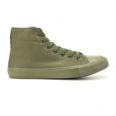 Ανδρικά πράσινα sneakers Osly iv220420-3 2