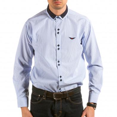 Ανδρικό γαλάζιο πουκάμισο Royal Kaporal il180215-177 2