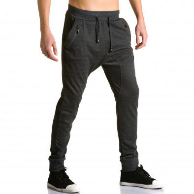 Ανδρικό μαύρο παντελόνι jogger Furia Rossa ca190116-19 4