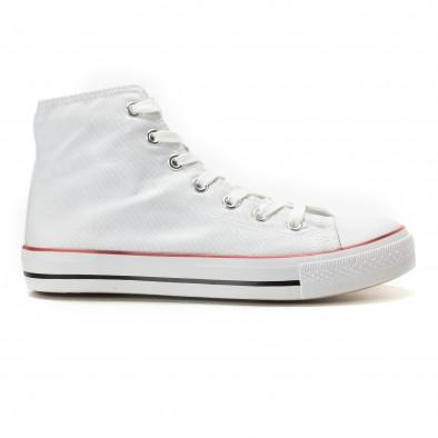 Ανδρικά λευκά sneakers Bella Comoda it260117-44 2