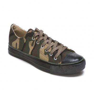 Ανδρικά καμουφλαζ sneakers Mapleaf it210415-23 3