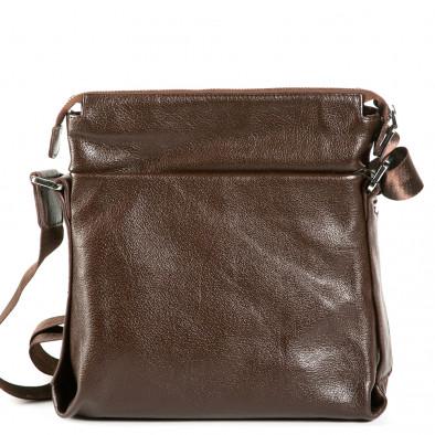Ανδρικό καφέ τσαντες Fashionmix 9077-1-brown 3