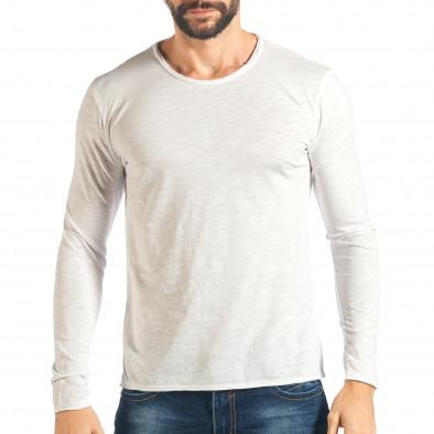 Ανδρική λευκή μπλούζα Y-Two it301017-96 2