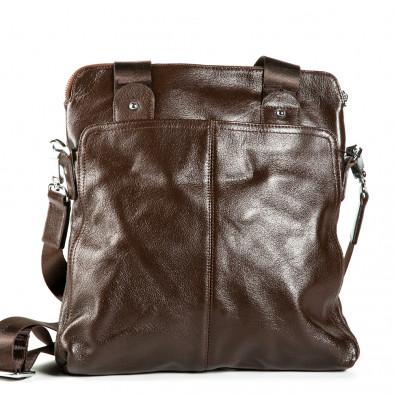 Ανδρικό καφέ τσαντες Fashionmix 1182-brown 2
