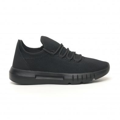 Ανδρικά αθλητικά παπούτσια ελαφρύ μοντέλο All Black it041119-4 3