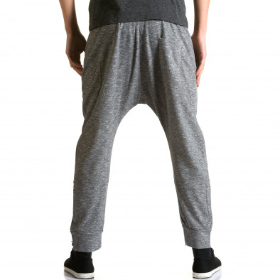 Ανδρικό γκρι παντελόνι jogger Max & Jenny ca190116-22 3