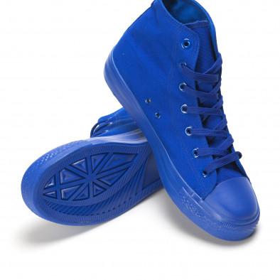 Ανδρικά γαλάζια sneakers Bella Comoda it090616-29 4