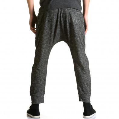 Ανδρικό γκρι παντελόνι jogger Max & Jenny ca190116-23 3