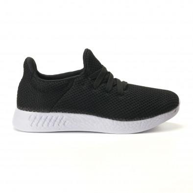Ανδρικά μαύρα αθλητικά παπούτσια Naban it100317-7 3