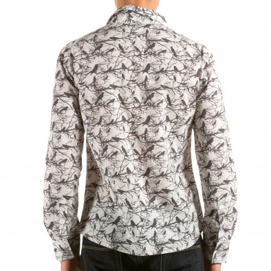 Ανδρικό λευκό πουκάμισο Catch il180215-188 2