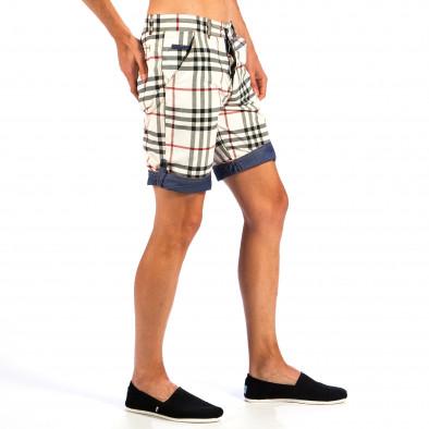 Ανδρικό πολύχρωμο βερμούδα Open Jeans il130613-1 3