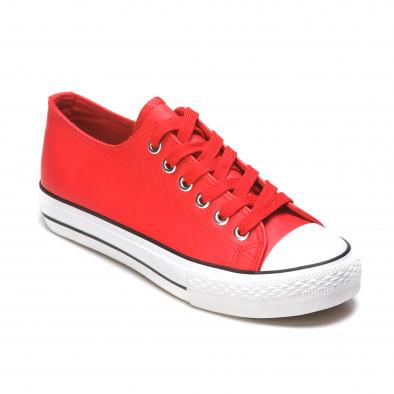 Ανδρικά κόκκινα sneakers Mondo Naturale It050216-13 3