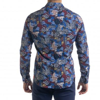 Ανδρικό πολύχρωμο πουκάμισο Open tr110320-99 3