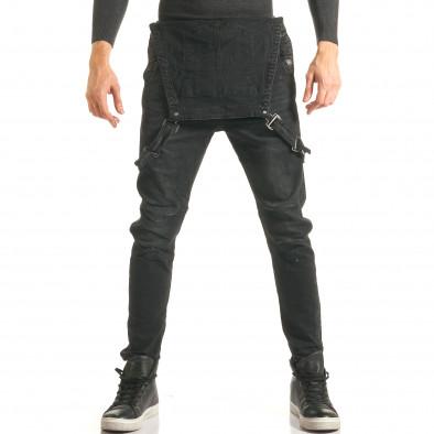 fb0c9cd4a669 Ανδρικό μαύρο τζιν σαλοπετα Always Jeans it181116-62 - Fashionmix.gr