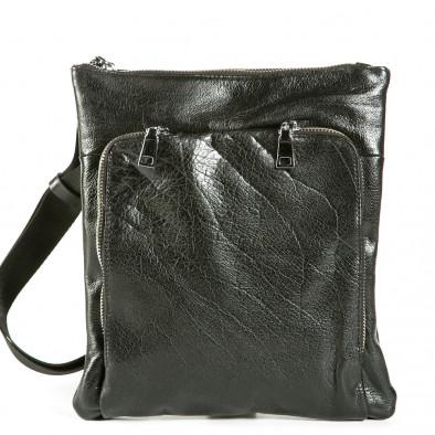 Ανδρικό μαύρο τσαντες Fashionmix 1236-black 2