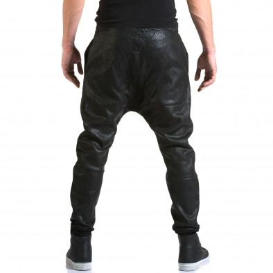 Ανδρικό μαύρο παντελόνι jogger Top Star it211015-60 3