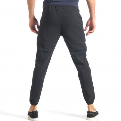 Ανδρική μαύρη φόρμα Giorgio Man it070218-10 4