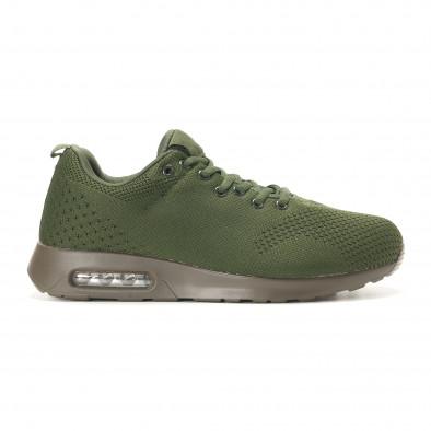 Ανδρικά πράσινα αθλητικά παπούτσια Kiss GoGo it291117-14 2
