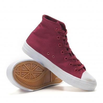 Ανδρικά κόκκινα sneakers Bella Comoda it260117-55 4