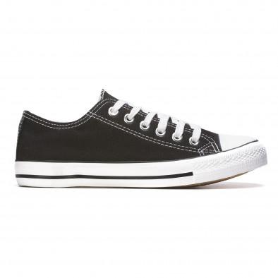 Ανδρικά μαύρα sneakers Dilen It050216-1 2