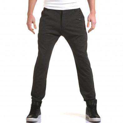 Ανδρικό γκρι παντελόνι Jack Berry it090216-3 2