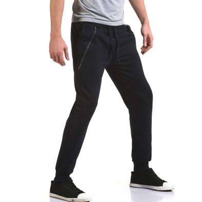Ανδρικό γαλάζιο παντελόνι jogger Eadae Wear it090216-54 4