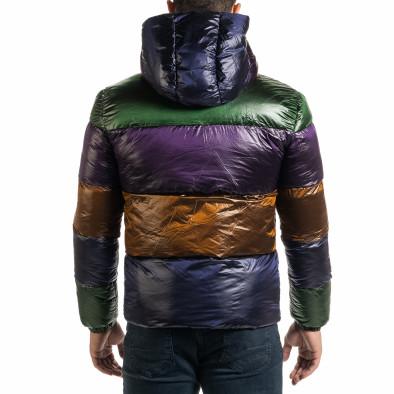 Ανδρικό πολύχρωμο χειμωνιάτικο μπουφάν it301020-7 4