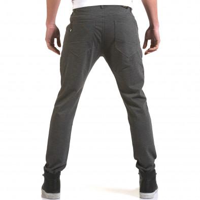 Ανδρικό γκρι παντελόνι Jack Berry it090216-1 3