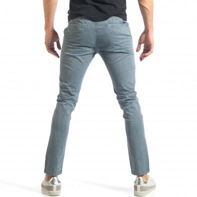 Ανδρικό γαλάζιο παντελόνι XZX-Star it290118-37 3