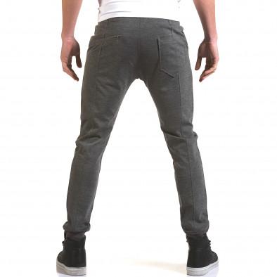 Ανδρικό γκρι παντελόνι Jack Berry it090216-28 3