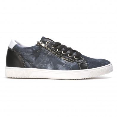 Ανδρικά γαλάζια sneakers Flair It050216-17 2