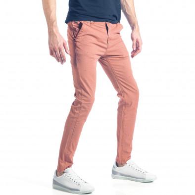 Ανδρικό ροζ παντελόνι XZX-Star it290118-35 4