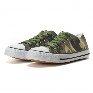 Ανδρικά καμουφλαζ sneakers Osly it260117-34 3