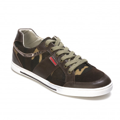 Ανδρικά πράσινα sneakers Staka It050216-14 3