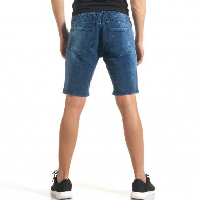 Ανδρικά γαλάζια σορτς  Flex Style it140317-109 3