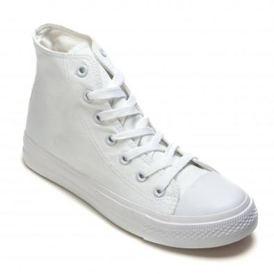 Ανδρικά λευκά sneakers Bella Comoda it260117-35 3