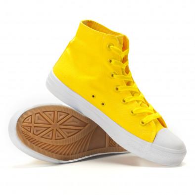 Ανδρικά κίτρινα sneakers Bella Comoda it260117-51 4