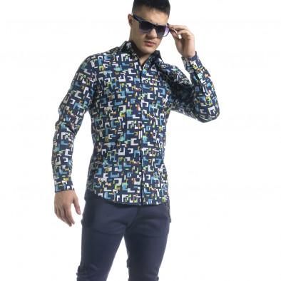 Ανδρικό πολύχρωμο πουκάμισο Open tr110320-97 2