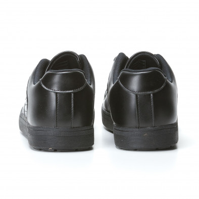 Ανδρικά μαύρα sneakers Flair it020617-7 5