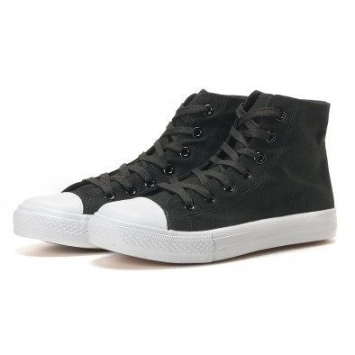 Ανδρικά μαύρα sneakers Bella Comoda it260117-53 3