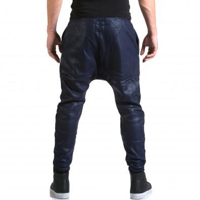 Ανδρικό γαλάζιο παντελόνι jogger Top Star it211015-59 3